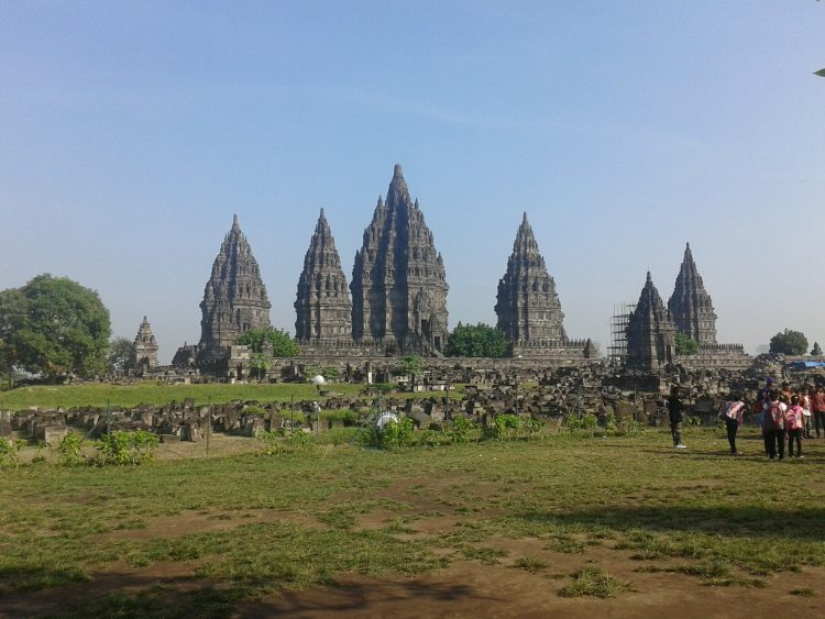 Prambanan temple in Central java