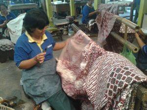 Batik Classic by hand in Jogjakarta