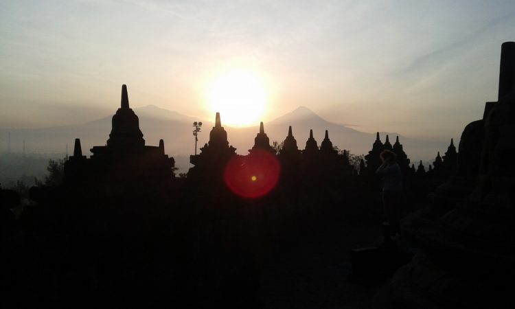 Borobudur will better seen in the morning