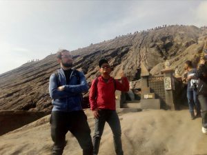 250 stairs to Bromo Crater