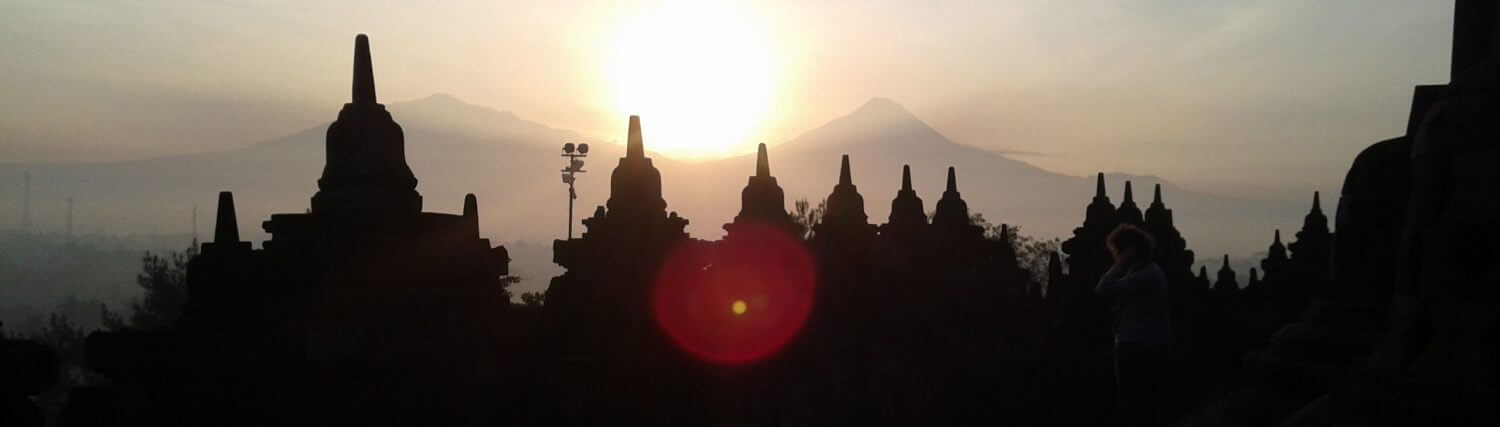 Tour to Jogjakarta and Borobudur
