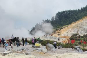 Dieng Hot mud Crater